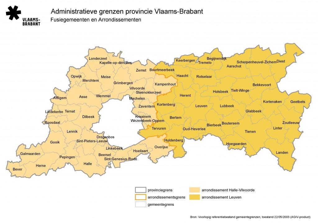 Dilbeek in Vlaams-Brabant en in het arron halle-vilvoorde