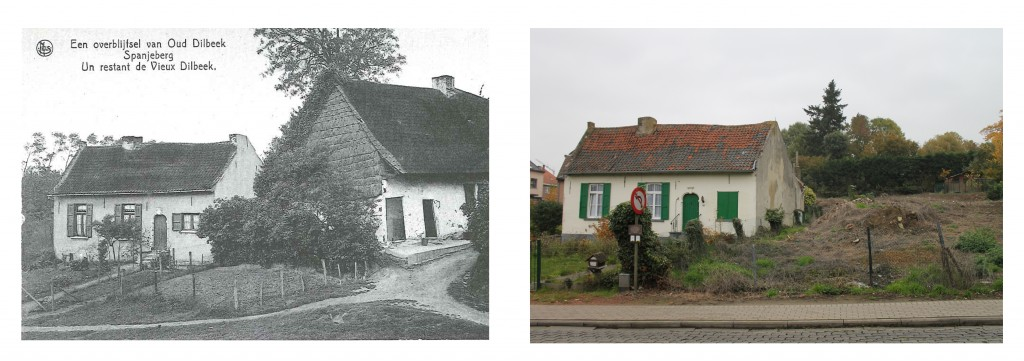 oud versus nieuw - Spaans huisje Dilbeek