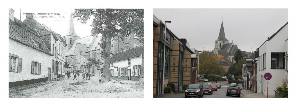 oud versus nieuw - dorp Dilbeek
