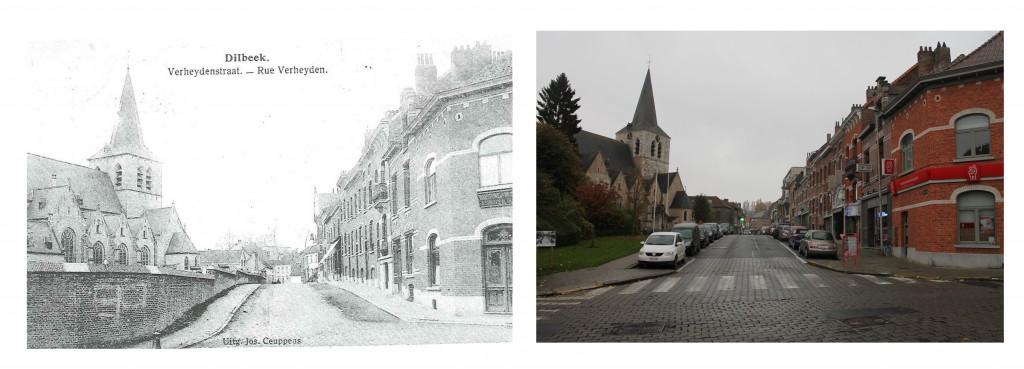 portfolio oud versus nieuw - Verheydenstraat Dilbeek